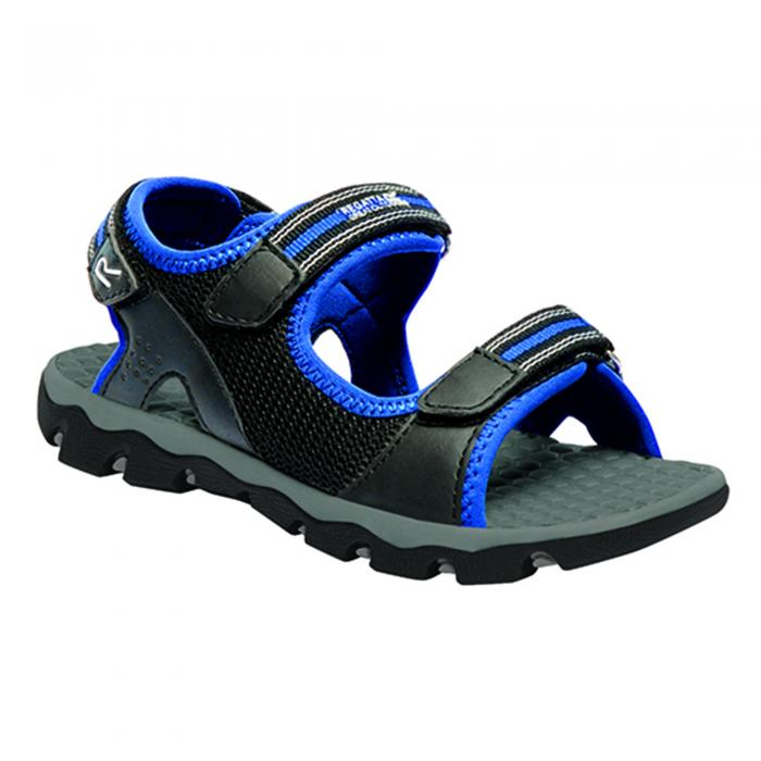 Terrarock Junior Sandal Black Oxford Blue