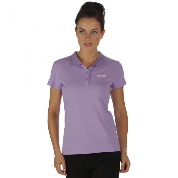 Women's Maverik III Polo Shirt Paisly Purple