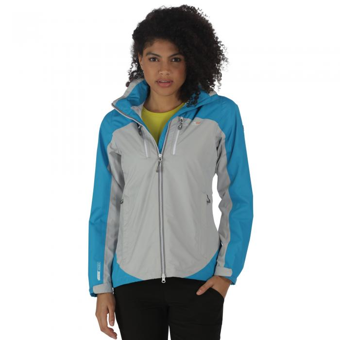 Women's Calderdale II Jacket Fluro Blue Steel