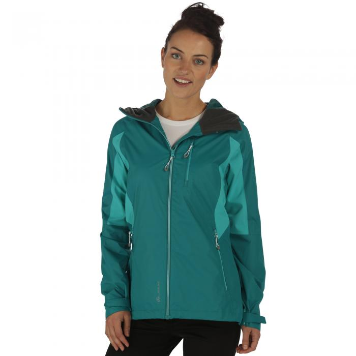Women's Cross Penine III Hybrid Jacket Deep Lake Atlantis