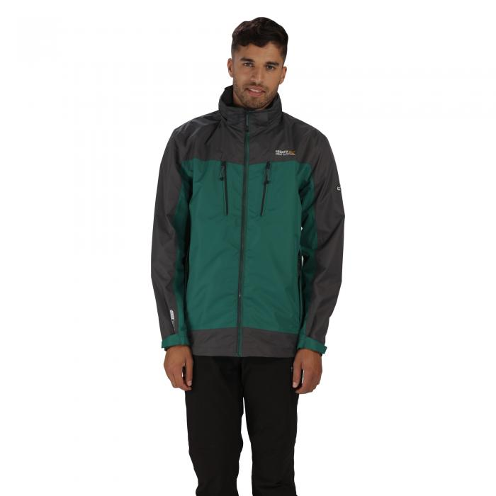 Calderdale II Jacket Hunter Green Grey