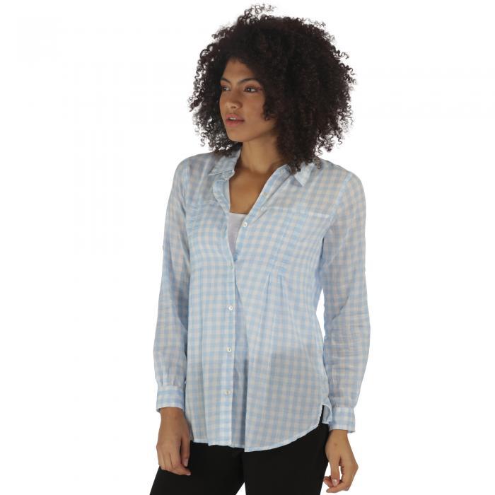 Mondara Shirt Blue Gingham