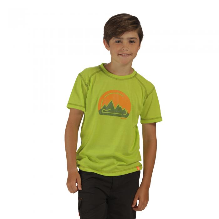 Motion II T-Shirt Lime Zest