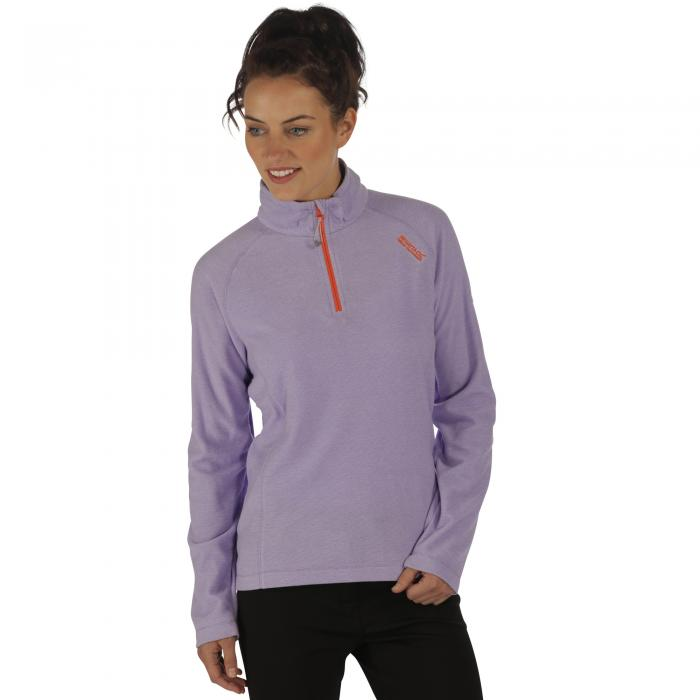 Women's Montes Fleece Paisly Purple