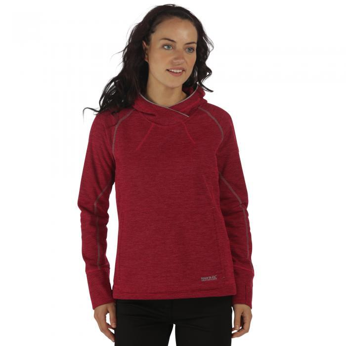 Women's Montem II Hooded Fleece Dark Cerise