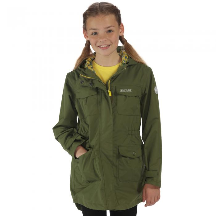 Girls Treasure II Parka CypressGreen