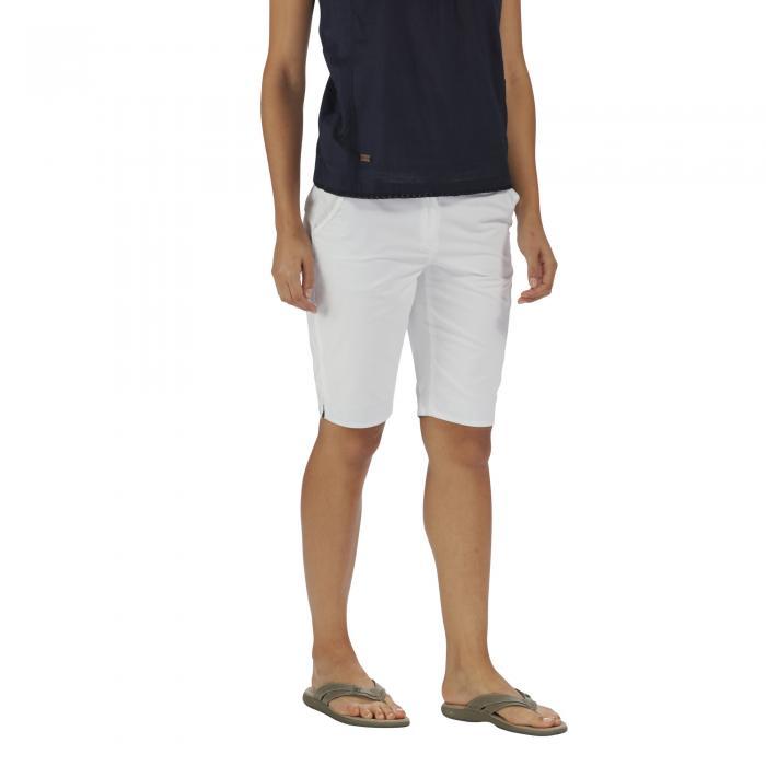 Sophillia Shorts White