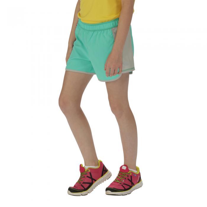 Girls Limber Shorts Jade Steel