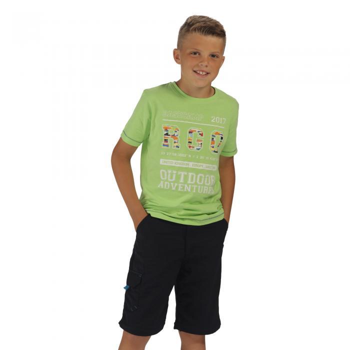 Bobbles II T-Shirt Jade Lime