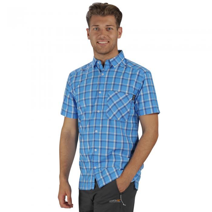 Mindano II Shirt Hydro Blue