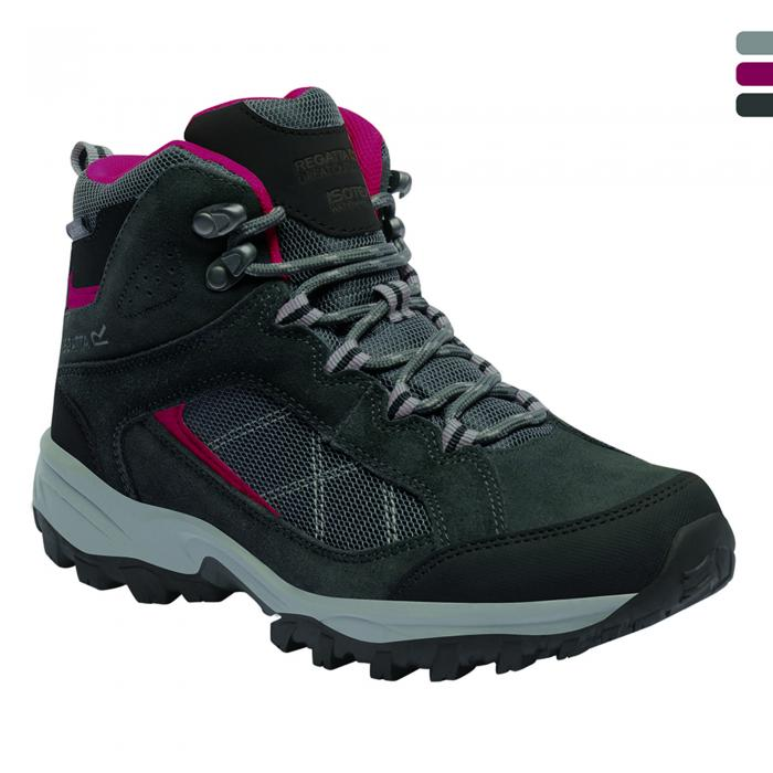 Lady Clydebank Hiking Boot Briar Cerise