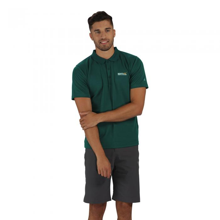 Maverik III Polo Shirt Dark Spruce