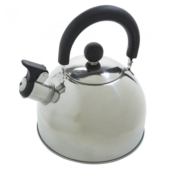 2 Litre Whistle Kettle Silver