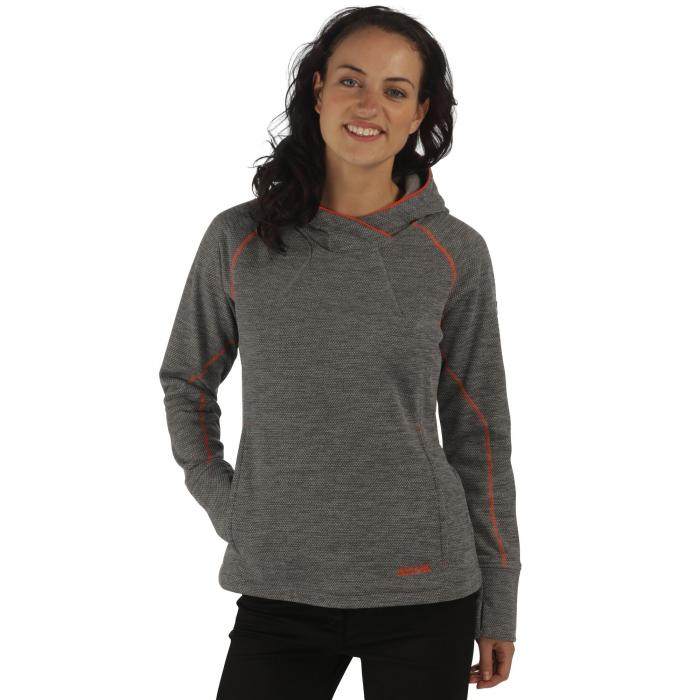 Women's Montem II Hooded Fleece Rock Grey