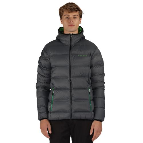 Downtime Down Jacket Ebony Grey