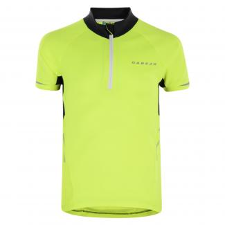 Kids Protege Cycle Jersey Fluro Yellow