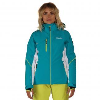 Etched Lines Ski Jacket Enamel Blue