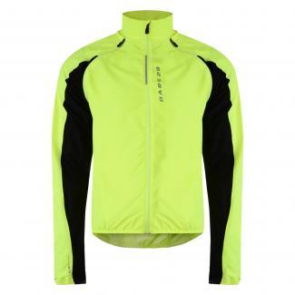 Unveil Windshell Jacket Fluro Yellow