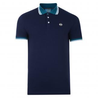Under Rule Polo Shirt Peacoat Blue