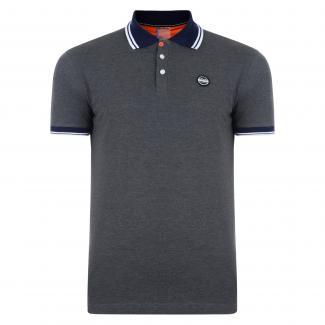 Under Rule Polo Shirt Grey Marl