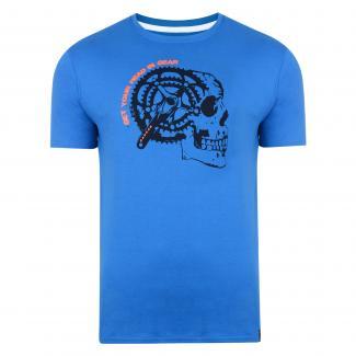 Gearhead T-Shirt Skydiver Blue