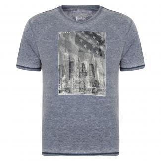 Snapshot T-Shirt Peacoat Blue Marl