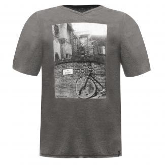 Snapshot T-Shirt Grey Marl
