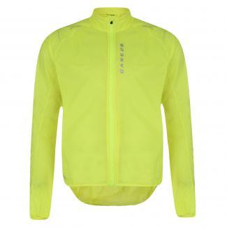Ensphere Packaway Jacket Fluro Yellow