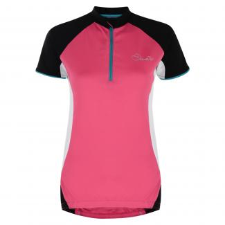 Subdue Cycle Jersey Electric Pink