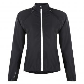 Womens Unveil Windshell Jacket Black