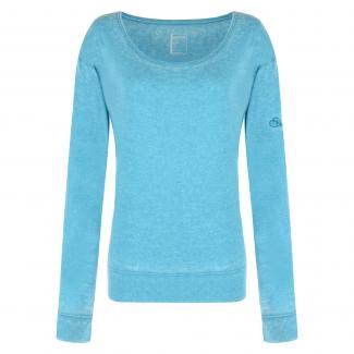 Unwind Long Sleeve T-Shirt Enamel Blue