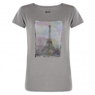 Tower Above T-Shirt Ash Grey Marl