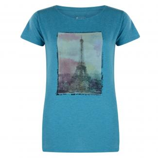 Tower Above T-Shirt Enamel Blue Marl