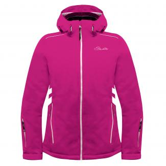 Work Up Women's Ski Jacket - Electric Pink