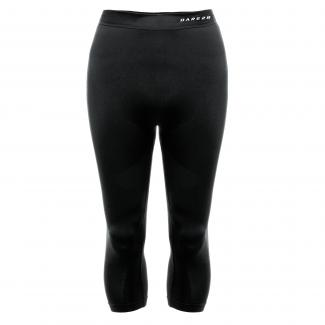 Zonal III Quarter Leggings - Black