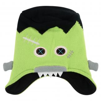 Boys Egghead Beanie - Lime Green