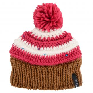 Girls Think Fast Beanie - Electric Pink