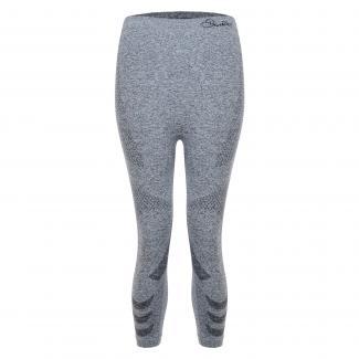 Womens Zonal III Quarter Legging - Charcoal Grey