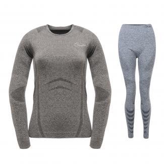Womens Zonal III Base Layer Set - Charcoal Grey