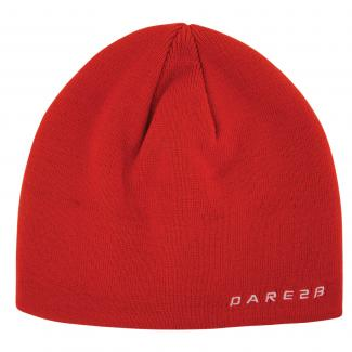 Prompted Beanie - Fiery Red
