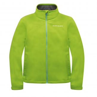 Kids Derive Softshell - Lime Green