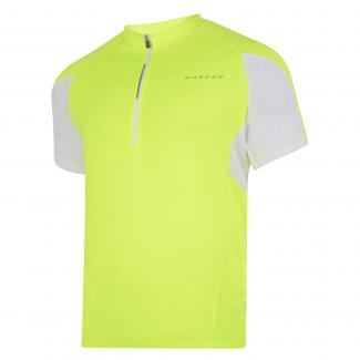 Commove Cycle Jersey - Fluro Yellow