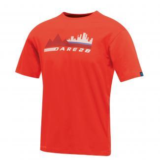 City Scene T-shirt - Fiery Red
