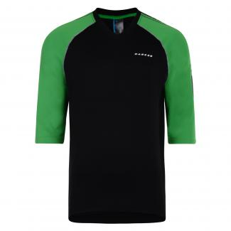 Dialled in Jersey - Black   Trek Green