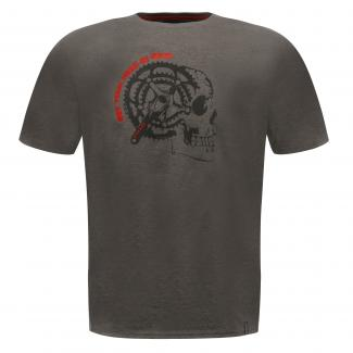 Gearhead T-Shirt Charcoal Grey Marl