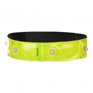 Reflective Snap Band Fluro Yellow
