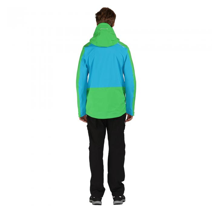 Requisition Jacket Fluro Blue Green