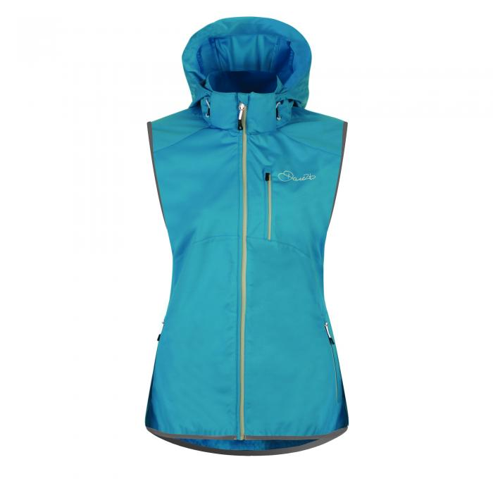 Catalyze Softshell Gilet Fluro Blue