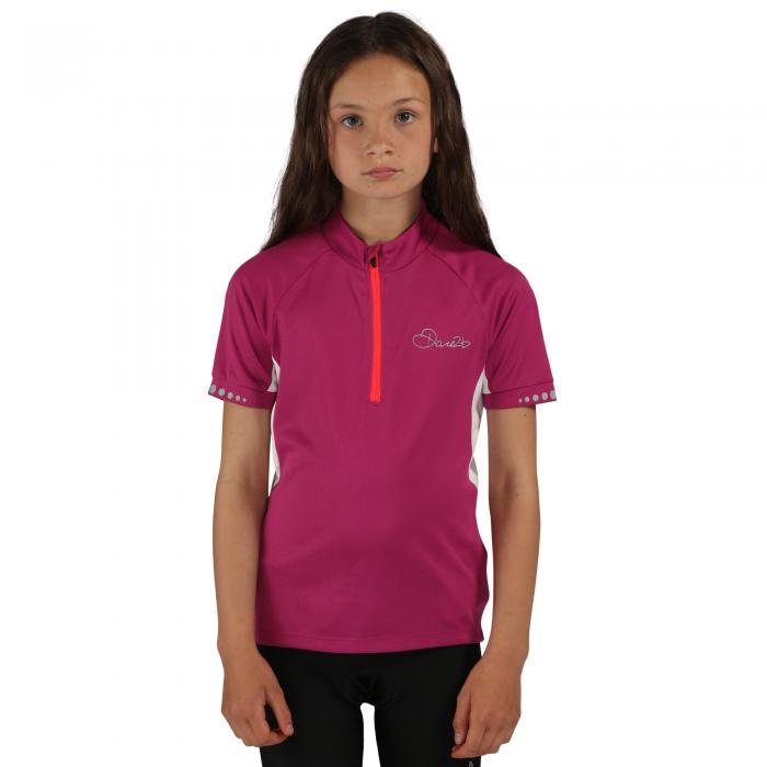 Kids Protege II Cycle Jersey Camellia Purple