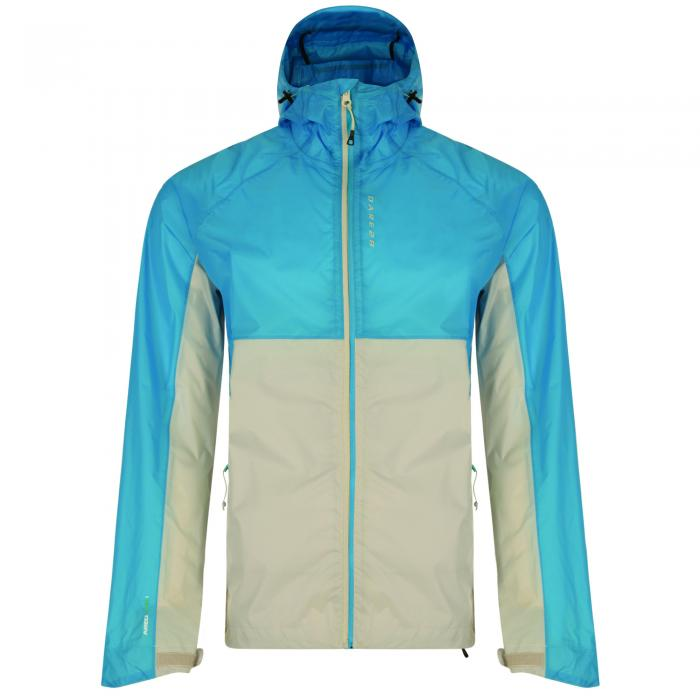 Exude Jacket Blue Iceberg Grey